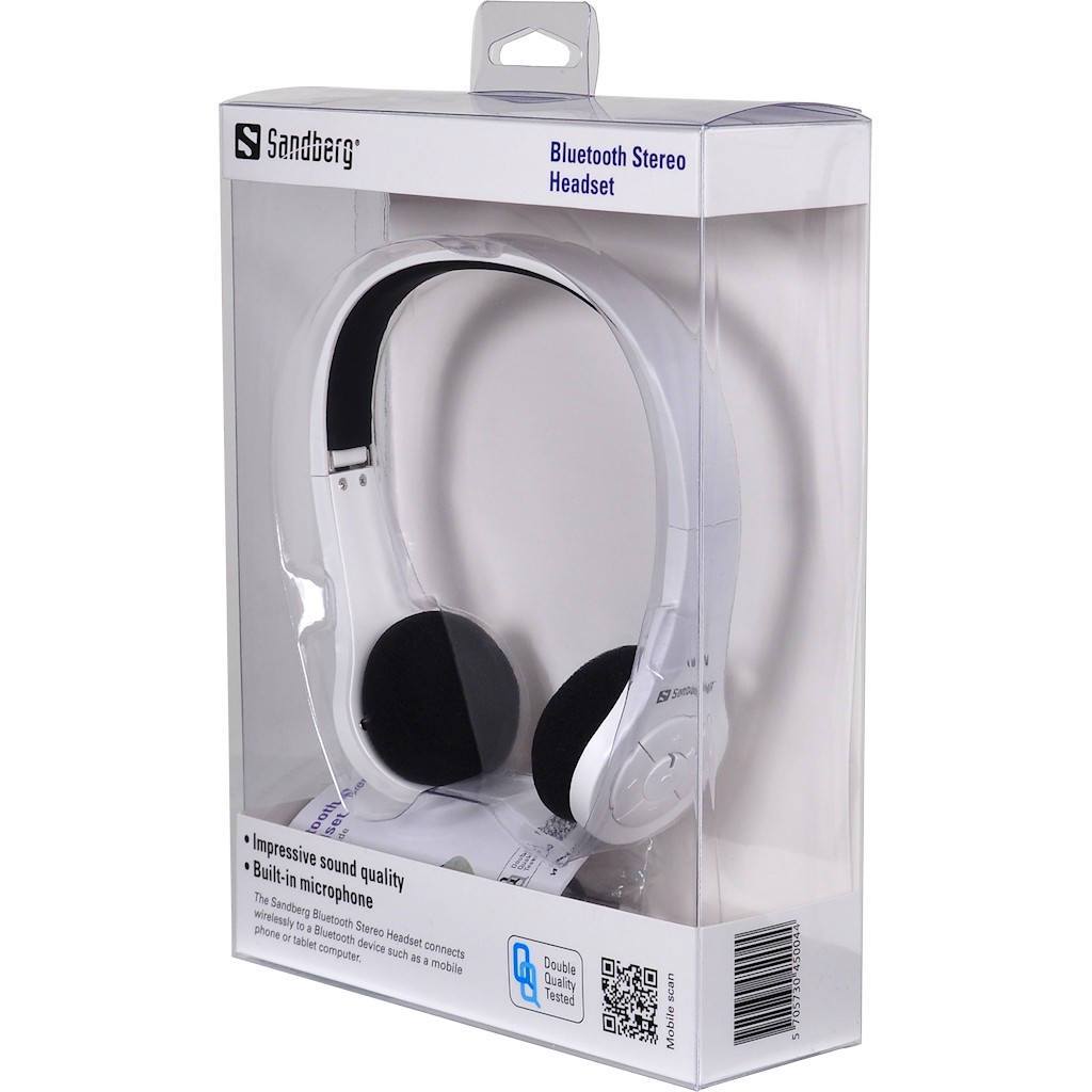 sandberg bluetooth stereo headset im test das. Black Bedroom Furniture Sets. Home Design Ideas