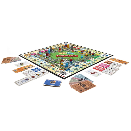 how to play monopoly cityville