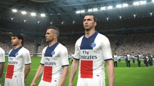 Pro Evolution Soccer 2015 screen 1
