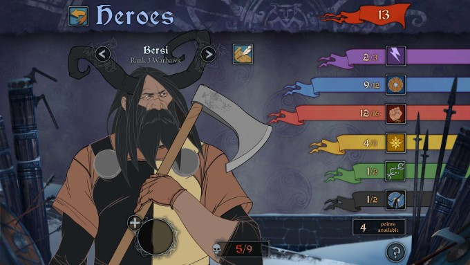 The-Banner-Saga Level System