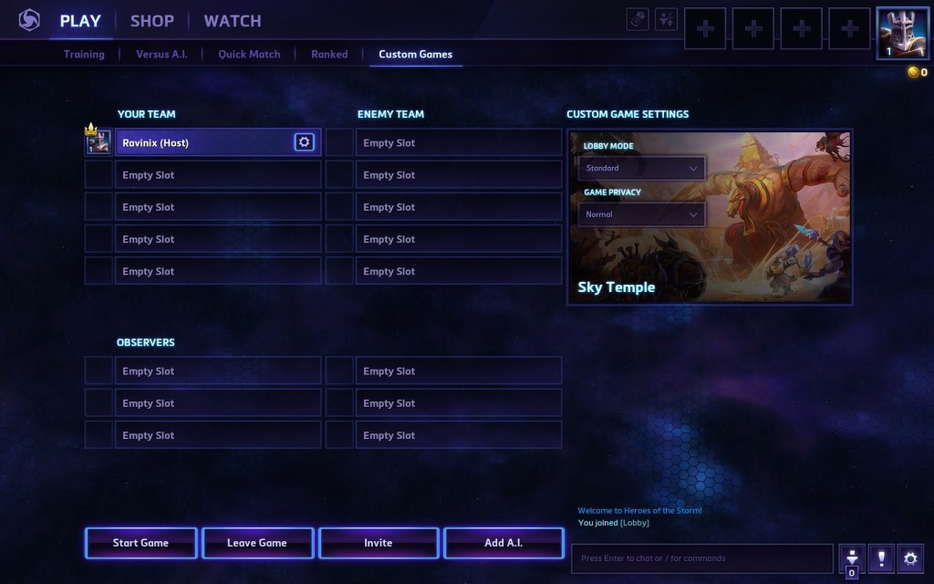 heroes of the storm slots