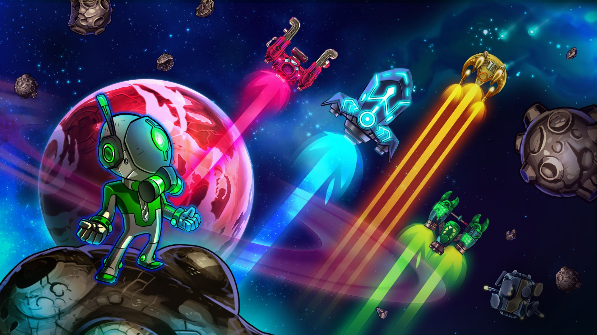 In Space we Brawl: Full Arsenal Edition bei uns im Test