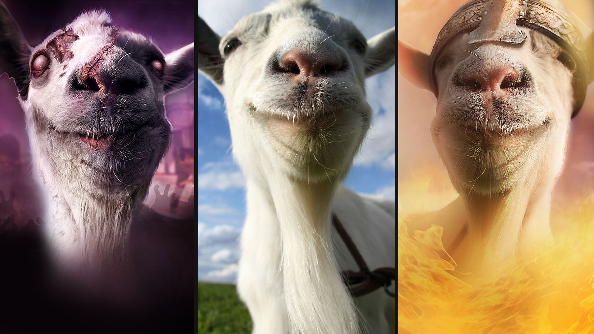 Goat Simulator The Bundle bei uns im Test