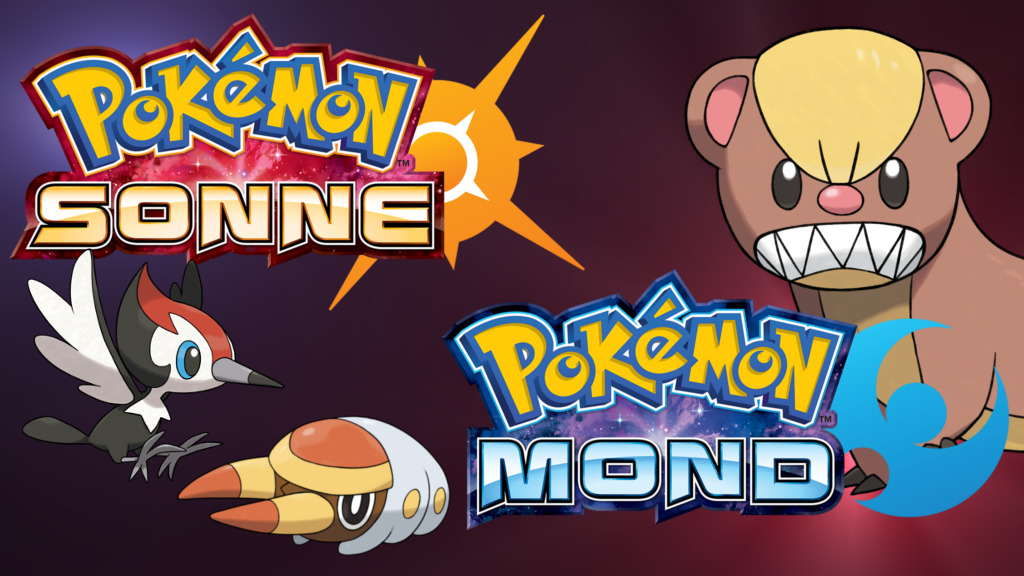 Pokemon Sonne Pokemon Mond