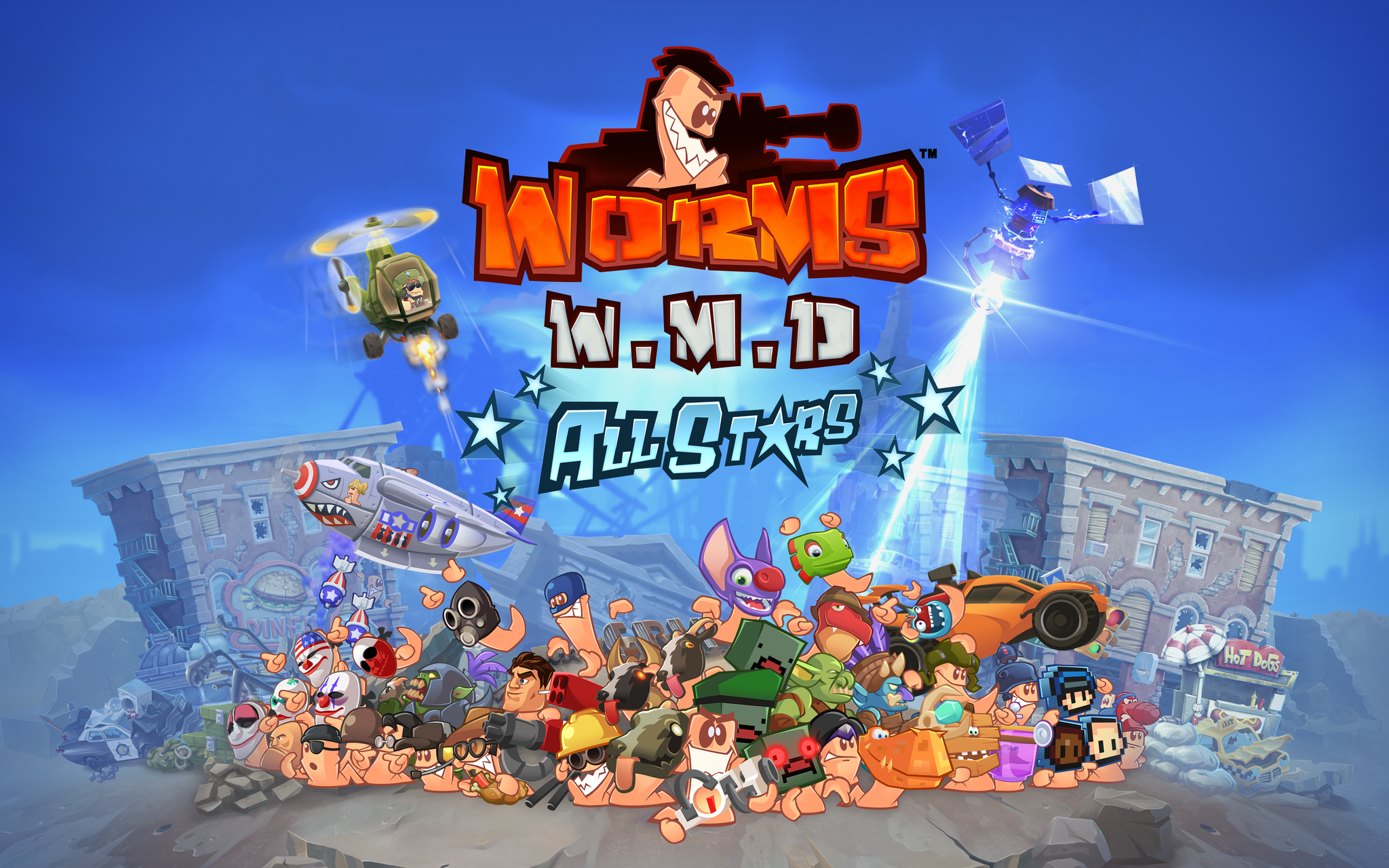 worms wmd allstars