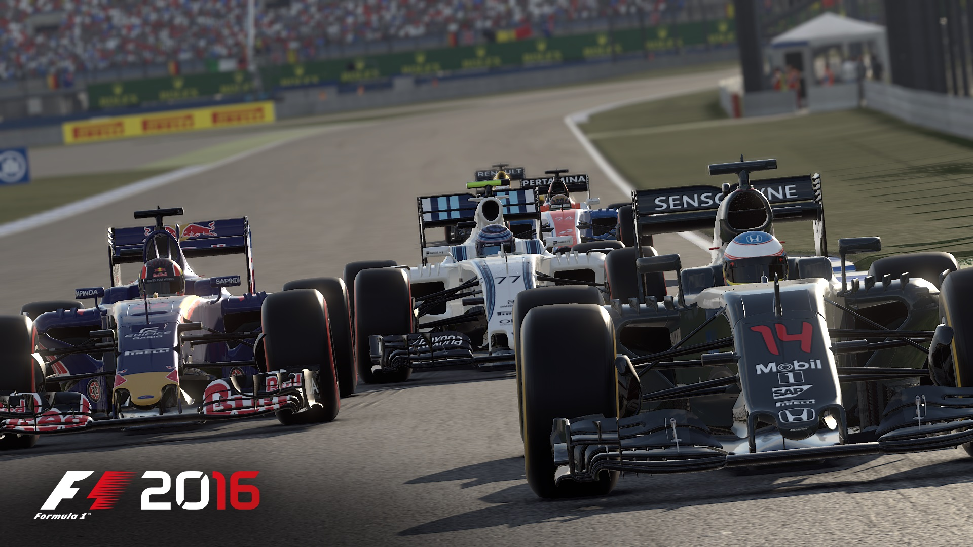 f1 2016 trailer zum karrieremodus des rennspiels das spielemagazin games mag. Black Bedroom Furniture Sets. Home Design Ideas