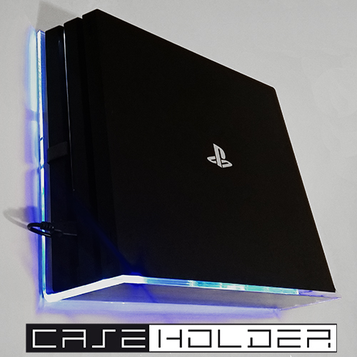 caseholder ps4 pro wandhalterung bei uns im test das. Black Bedroom Furniture Sets. Home Design Ideas