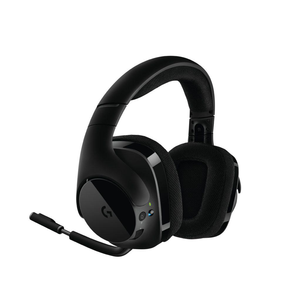 logitech g stellt neues kabelloses gaming headset vor. Black Bedroom Furniture Sets. Home Design Ideas