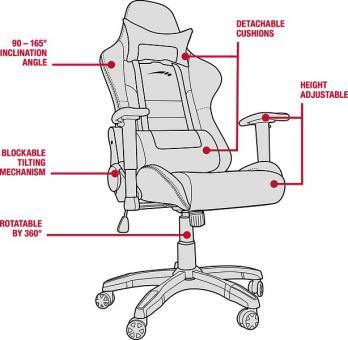 speedlink regger gaming chair bei uns im test das spielemagazin games mag. Black Bedroom Furniture Sets. Home Design Ideas